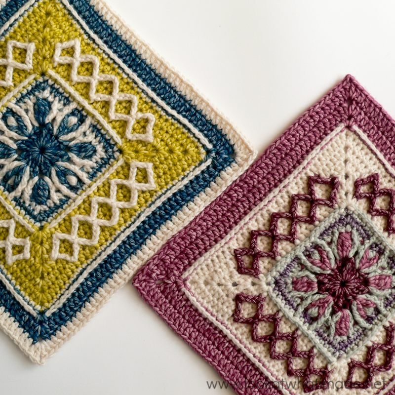 Crochet Quilt Squares : Pick a Square, Make a Blanket! 20 Free Crochet Afghan Square Patterns ...