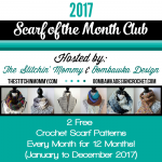 2017 Scarf of the Month Club