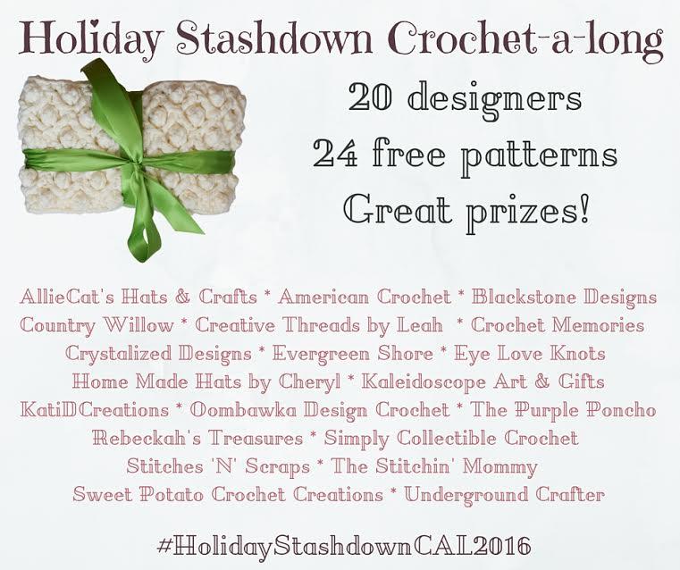 Holiday Stashdown Crochet-a-long 2016 Edition | www.thestitchinmommy.com